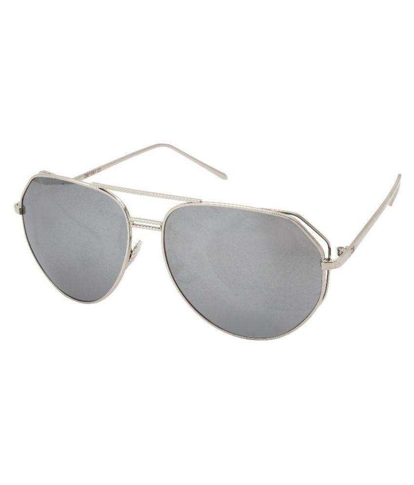 Zins Grey Aviator Sunglasses ( ZS 1091 C1 )
