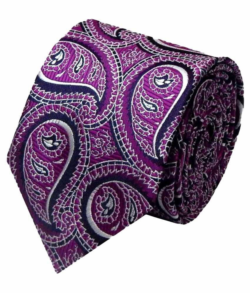 Navaksha Purple Party Necktie