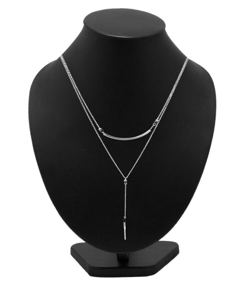 Voylla Silver Necklace