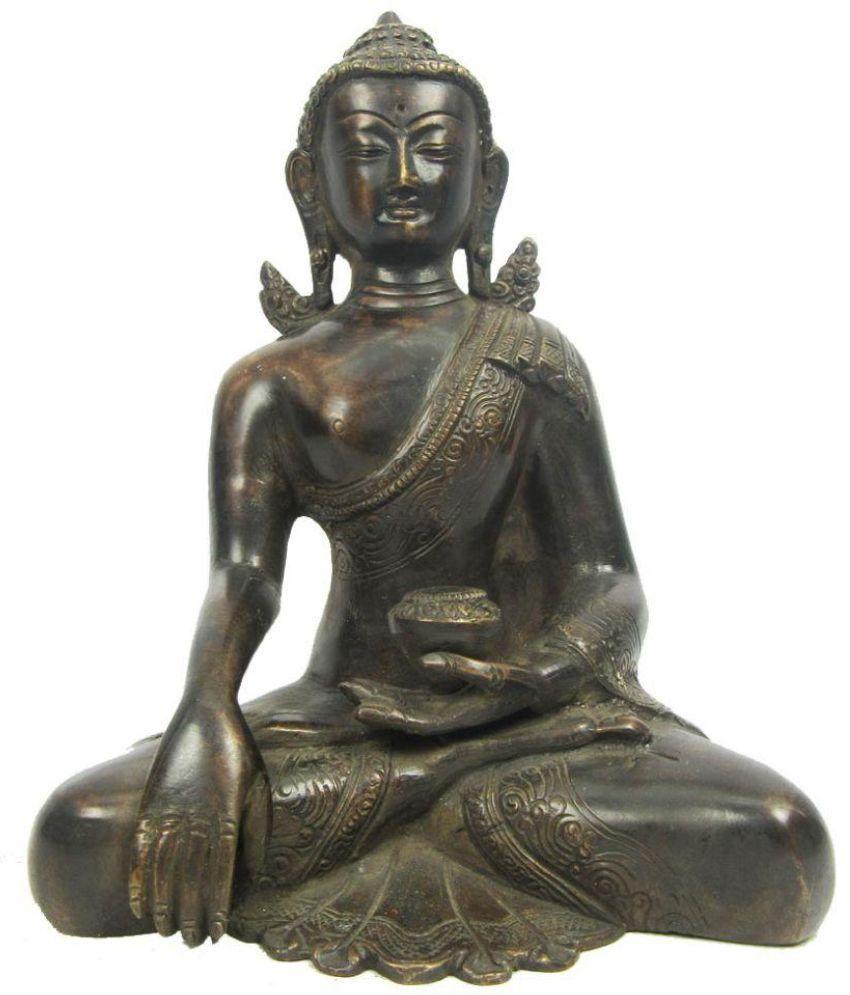 Indian Arts Museum Buddha Brass Idol