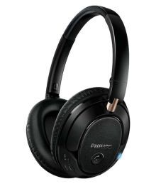 Philips SHB7250/00 Over Ear Wireless Headphones With Mic Black
