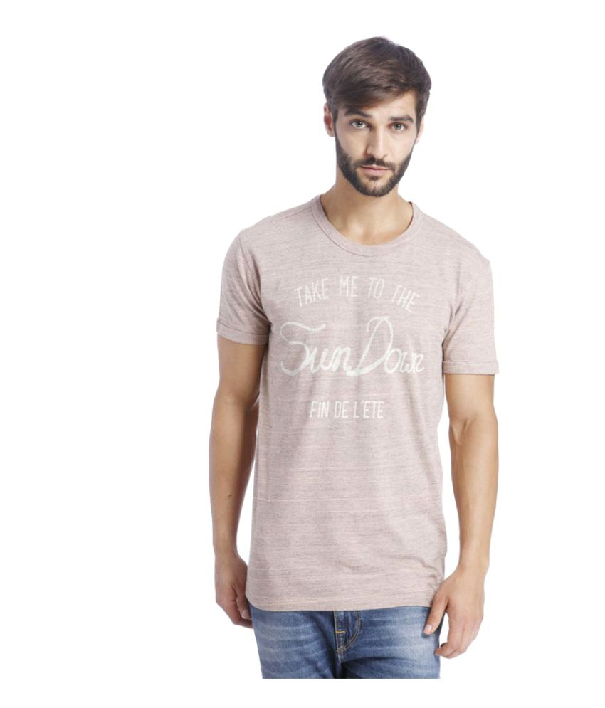 Selected Pink Round T-Shirt
