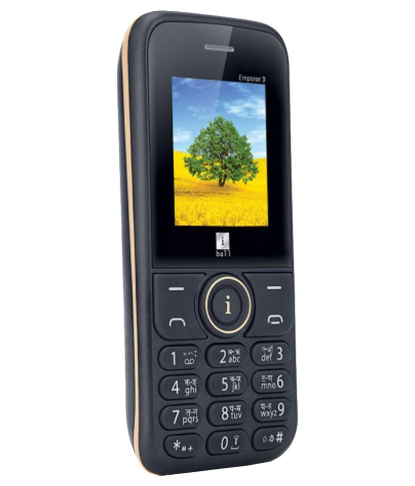 iBall Emperor3 ( 4GB and Below , 256 MB ) Black Gold