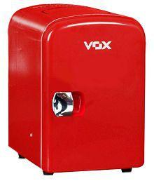 Vox 4 LTR CC-4B Single Door Refrigerator Red