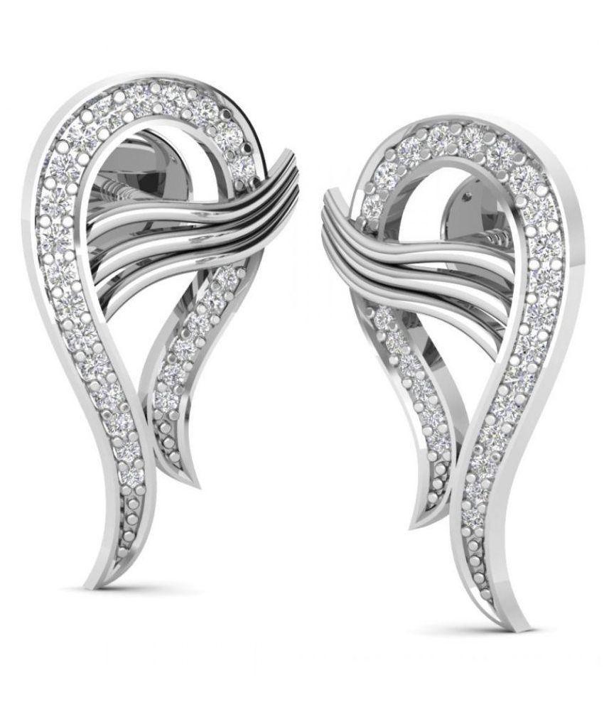 Joyra Silver Stud Earring