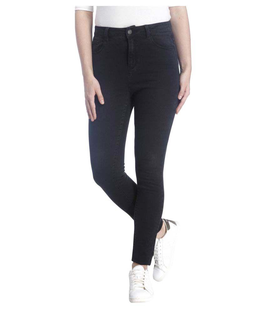 Vero Moda Black Poly Cotton Jeans