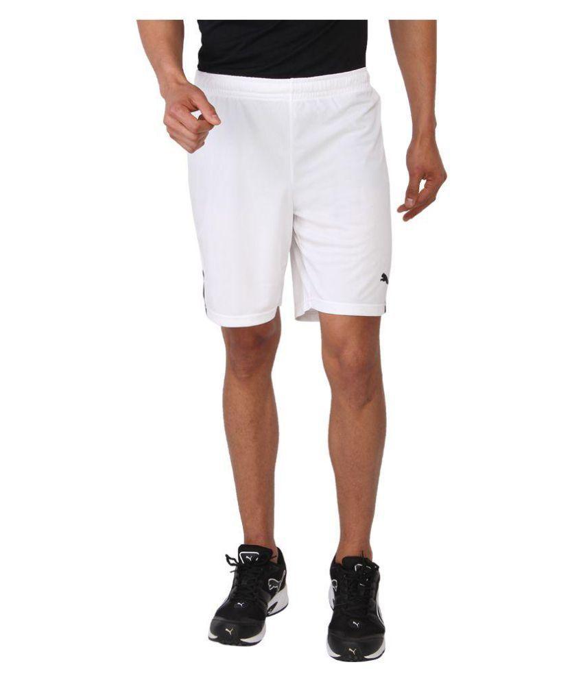 Puma White Shorts