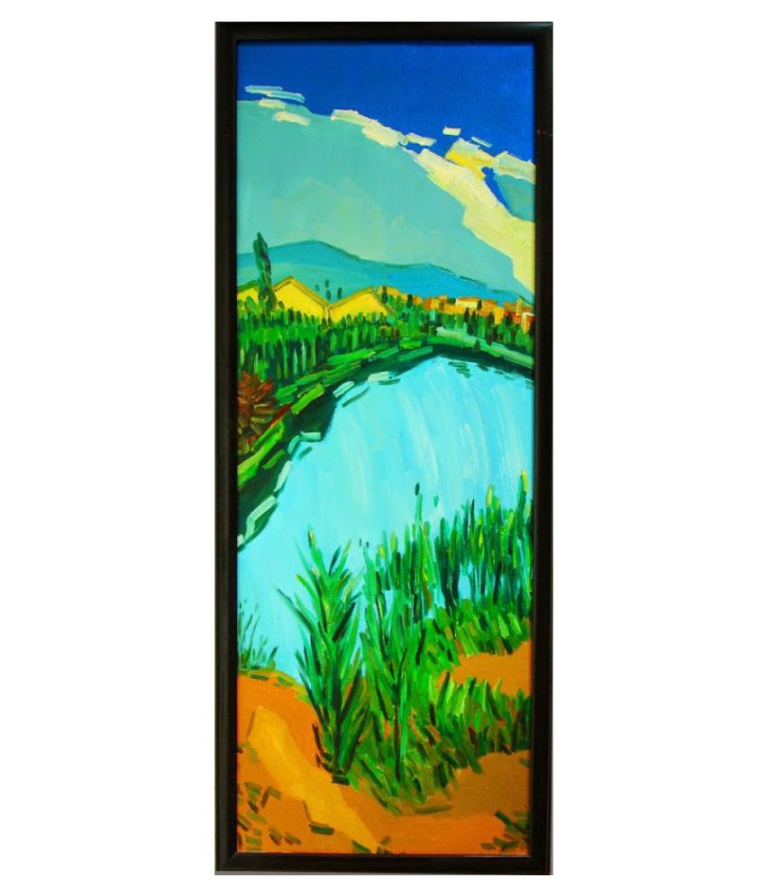 Vitalwalls Paper Art Prints Without Frame Single Piece