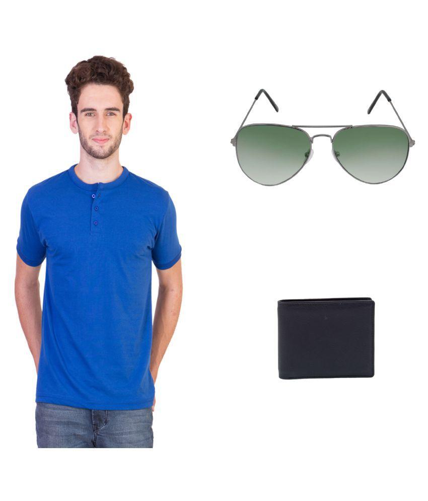 Keepsake Blue Henley T-Shirt