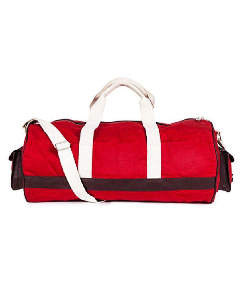 Goatter Red Gym Bag