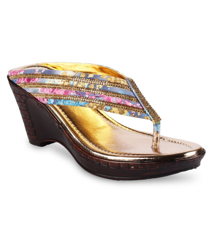 Anand Archies Multicoloured Wedges Heels