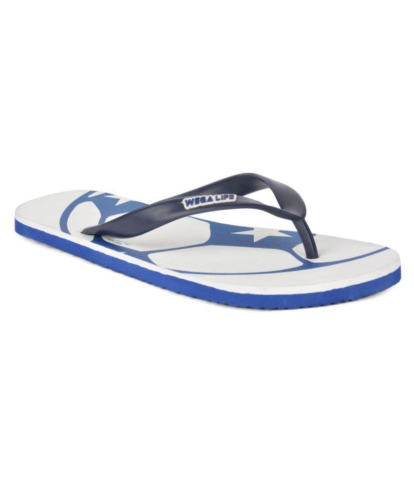 Wega Life White Slippers