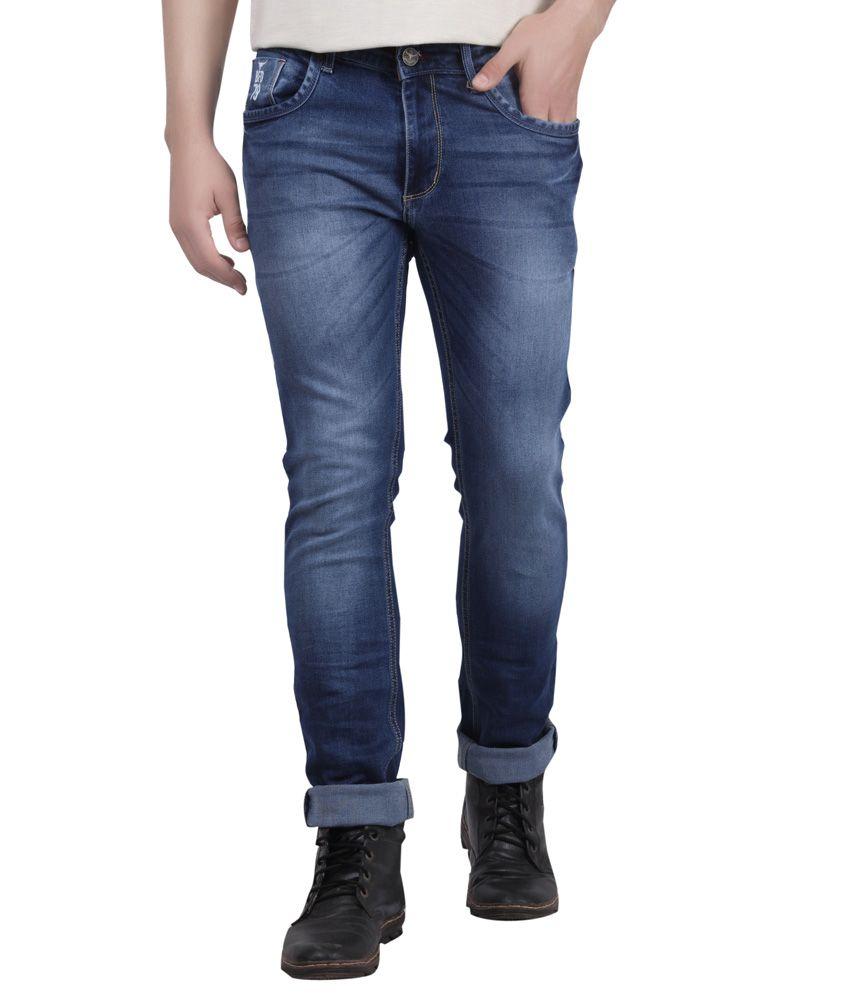 Buffalo By Fbb Blue Slim Fit Jeans