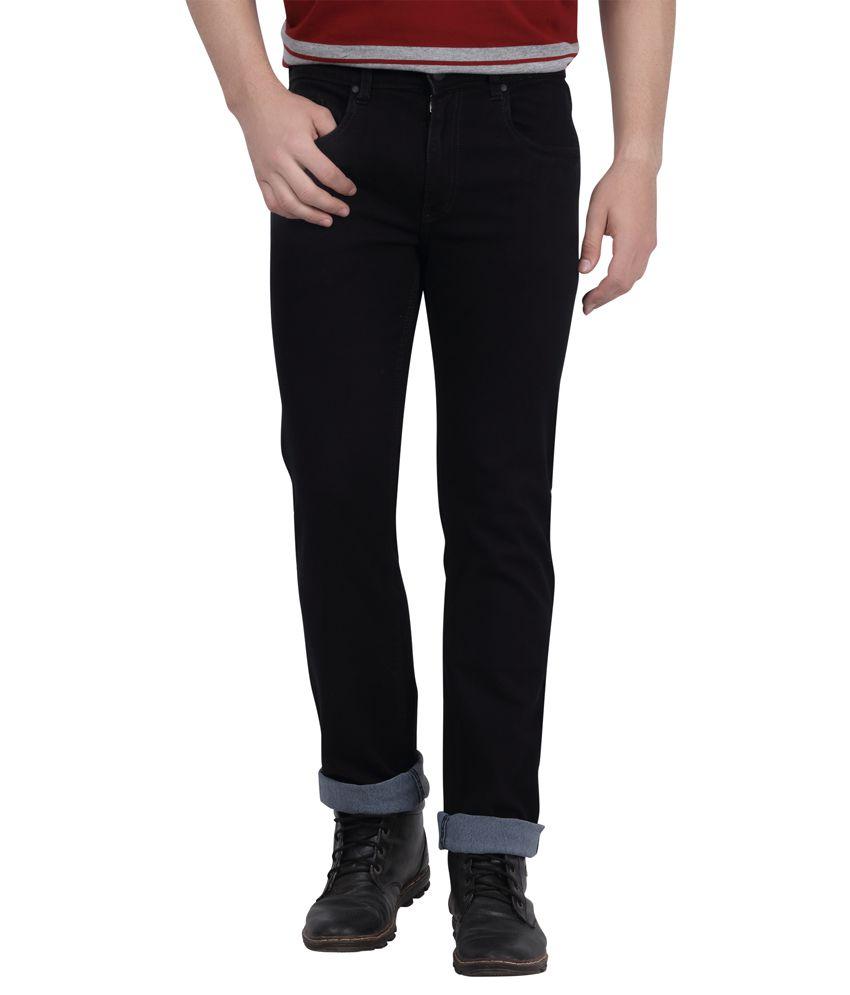 DJ&C By Fbb Black Regular Fit Jeans
