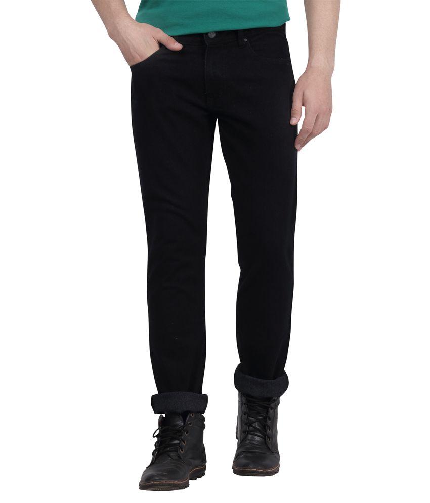 DJ&C By Fbb Black Slim Fit Jeans