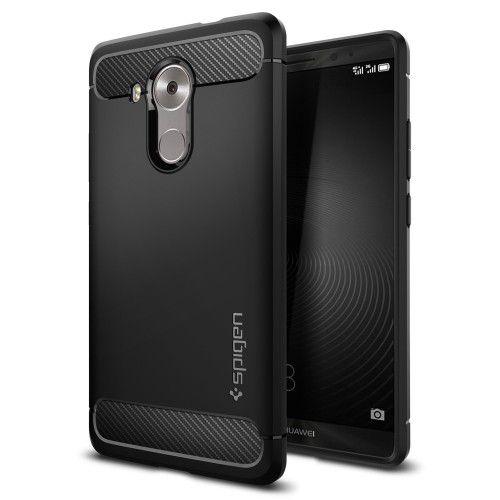 super popolare 7cac8 ed706 Huawei Mate 8 Cover by Spigen - Black