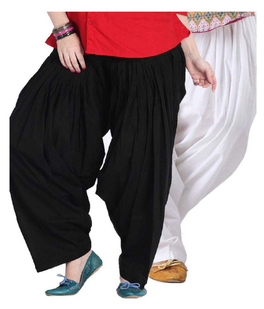 Fashion Arcade Cotton Pack of 2 Patiala