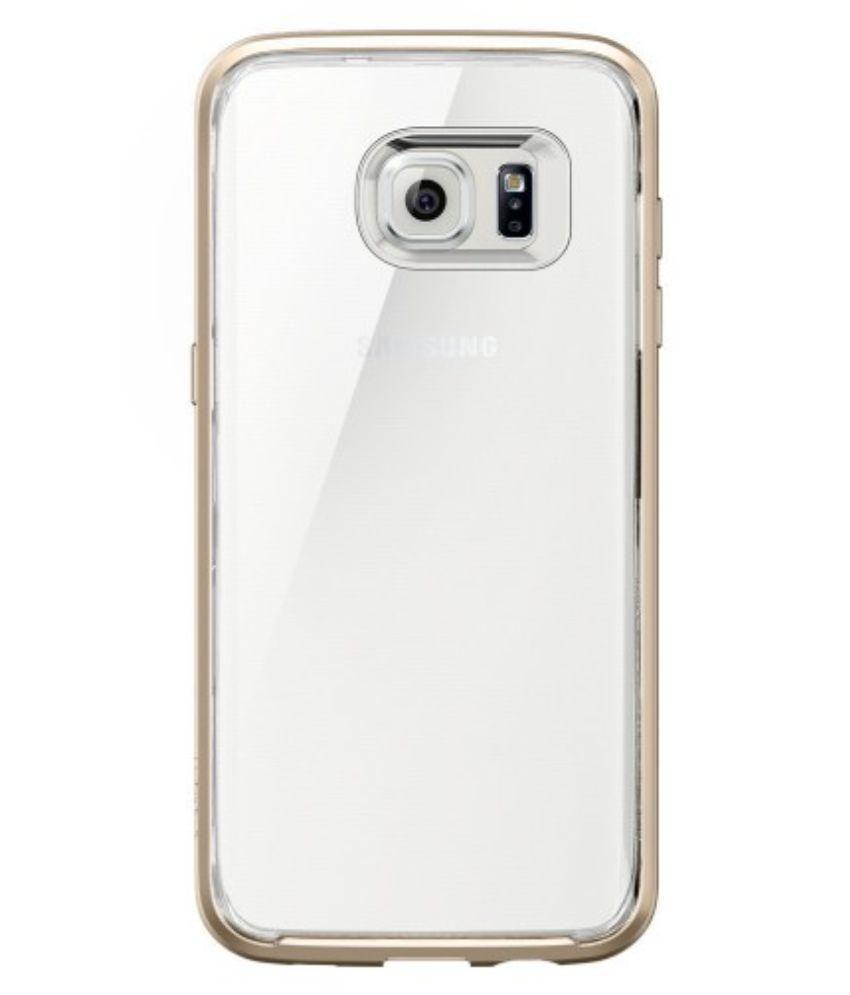 ... Spigen Galaxy S7 Edge Case Neo Hybrid Crystal Champagne Gold 556CS20048
