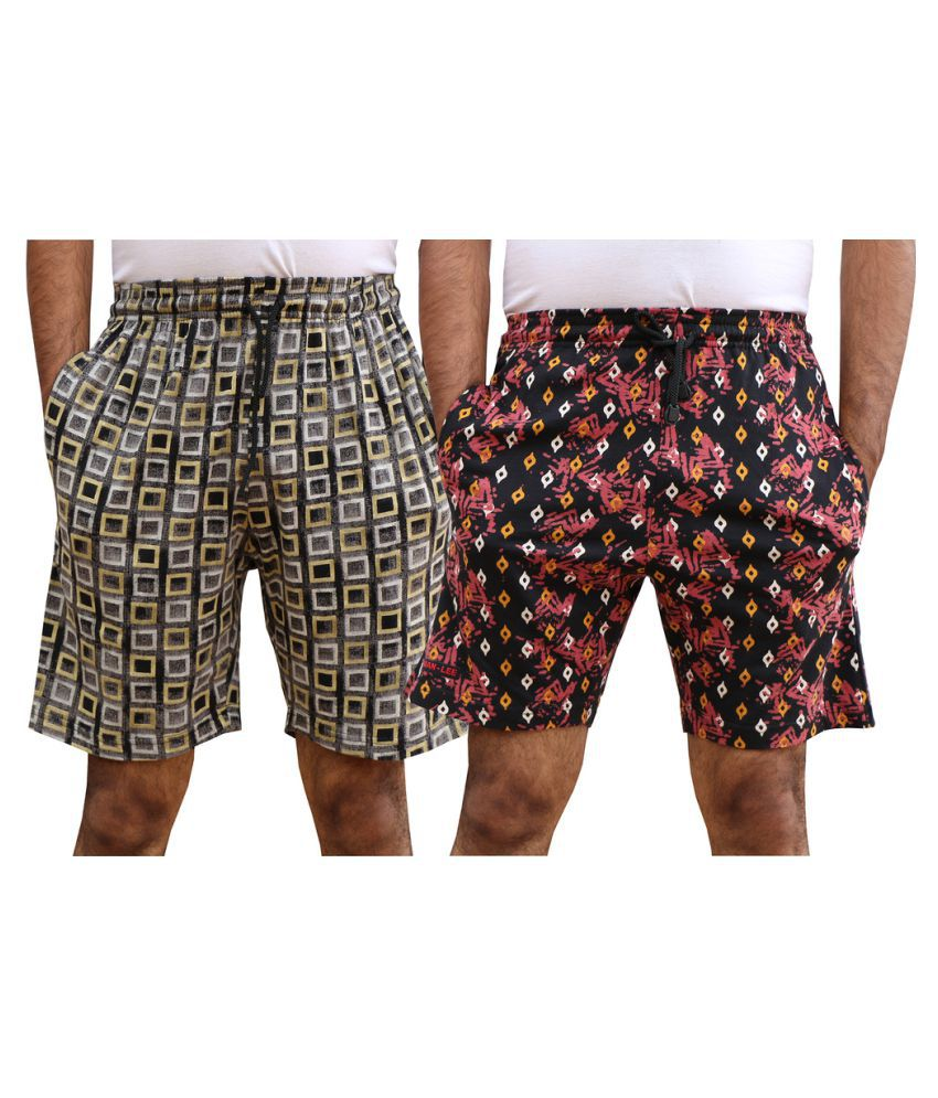 ELK Multi Shorts Combo of 2
