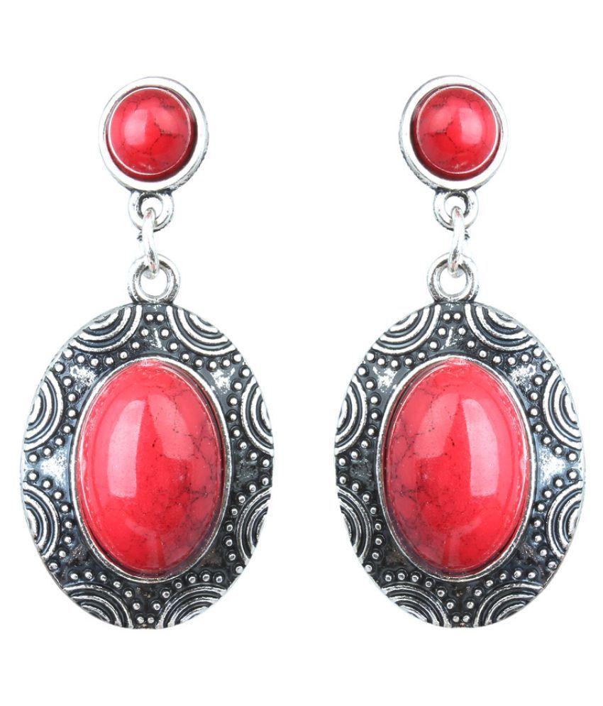Waama Jewels Multicolour Hanging Earrings