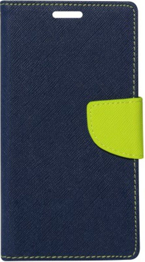One Plus X Flip Cover by Doyen Creations - Blue