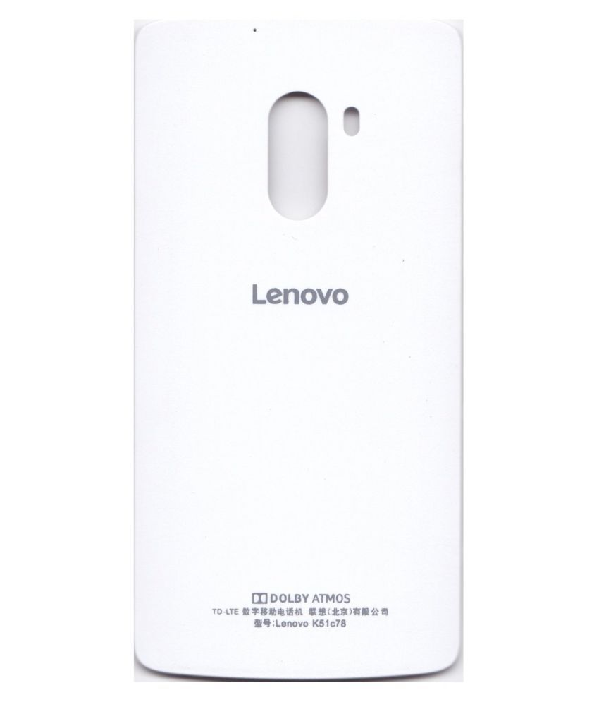 brand new d17d4 4a671 ClickAway White Back Panel for Lenovo K4 Note