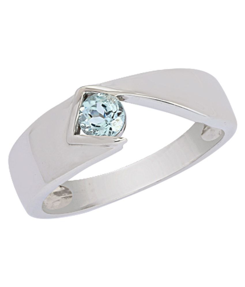 Shine Jewel 92.5 Silver Topaz Ring
