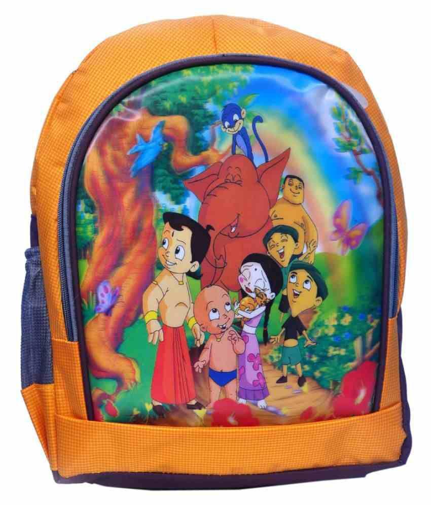 Tinytot Mixed color School Bag for Boys