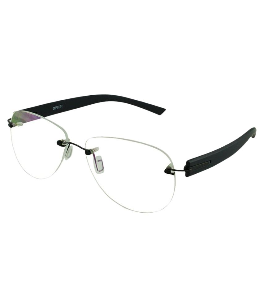 767dee44a Opium Black Aviator Spectacle Frame OP-3021-C5-H - Buy Opium Black Aviator  Spectacle Frame OP-3021-C5-H Online at Low Price - Snapdeal