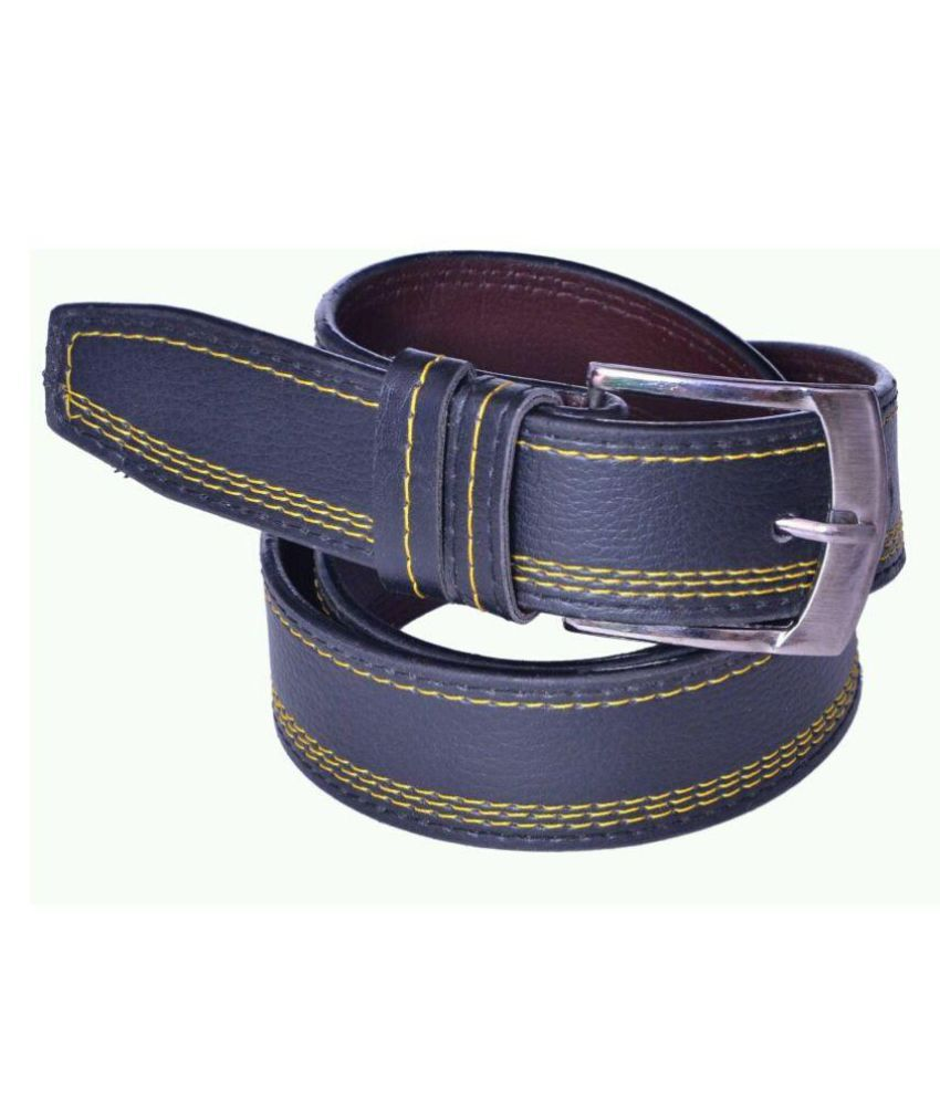 Master Club Blue Faux Leather Casual Belts