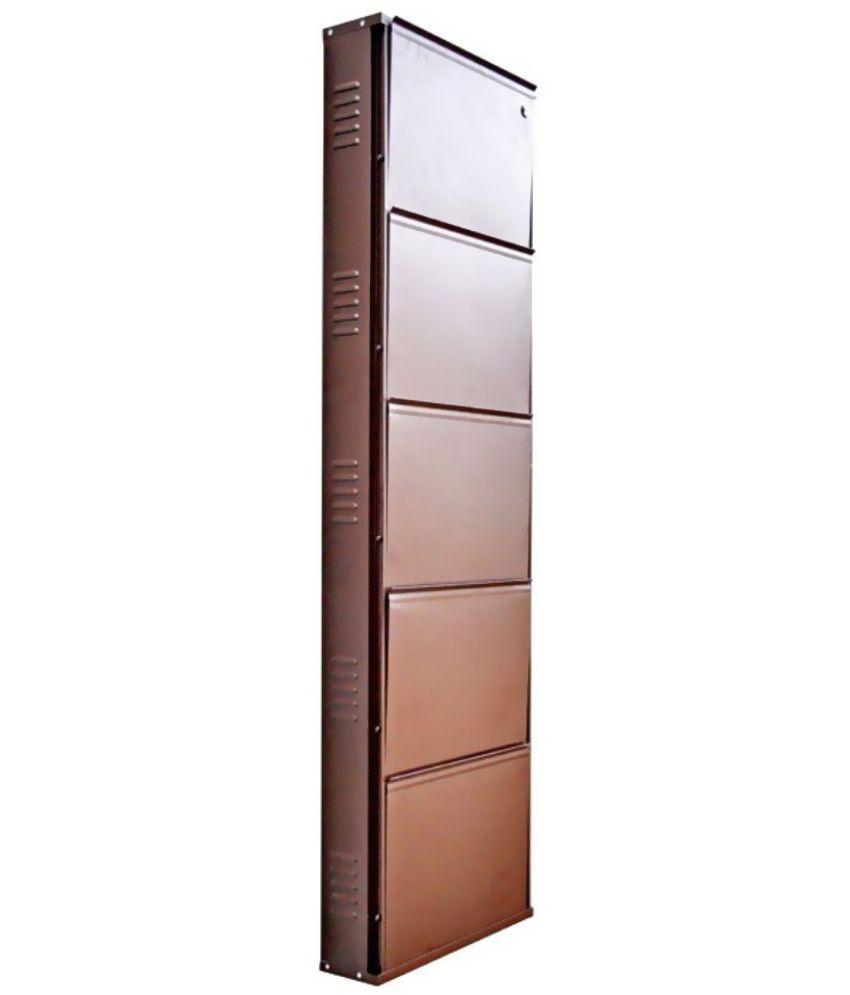 peng essentials metal 5 tier 20 wide shoe rack buy peng rh snapdeal com