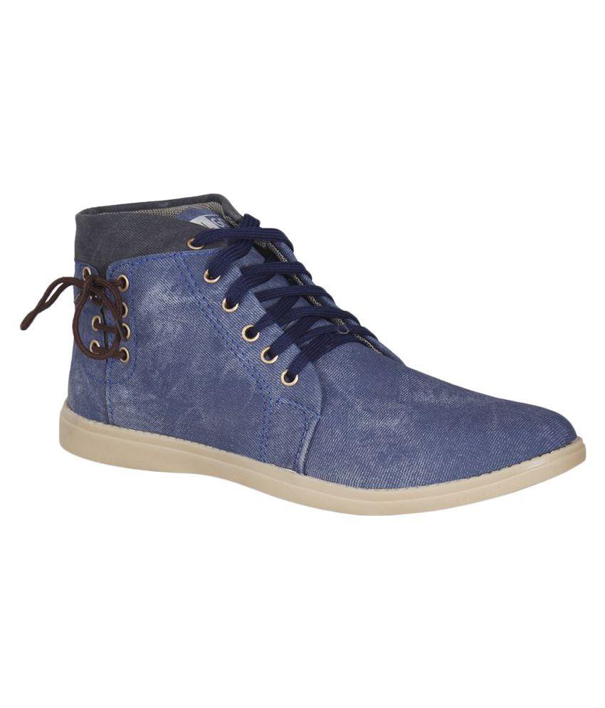 Goalgo Blue Casual Boot