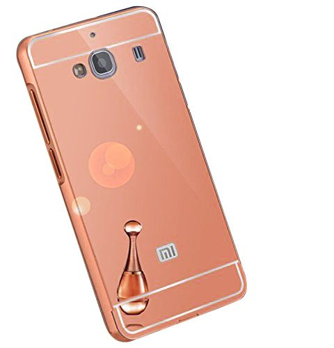 Mirror Back Cover For Xiaomi Mi 2S + Zipper earphone free by Style Crome.