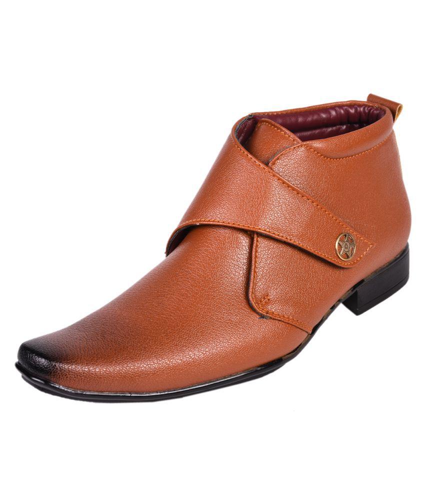 Affican Tan Formal Boot