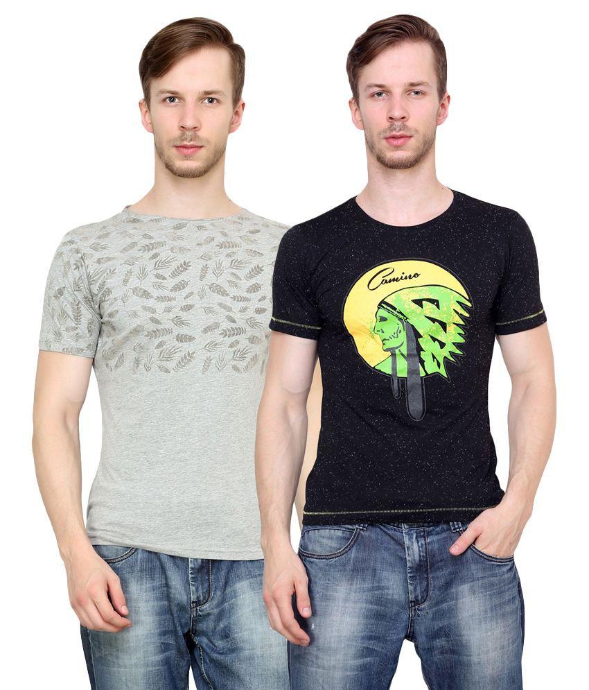 Camino Multi Round T-Shirt
