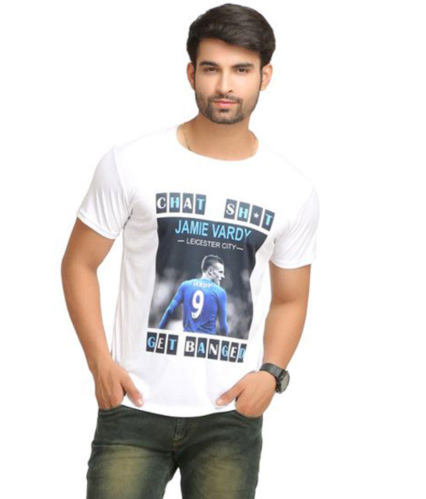 Indipop White Round T-Shirt