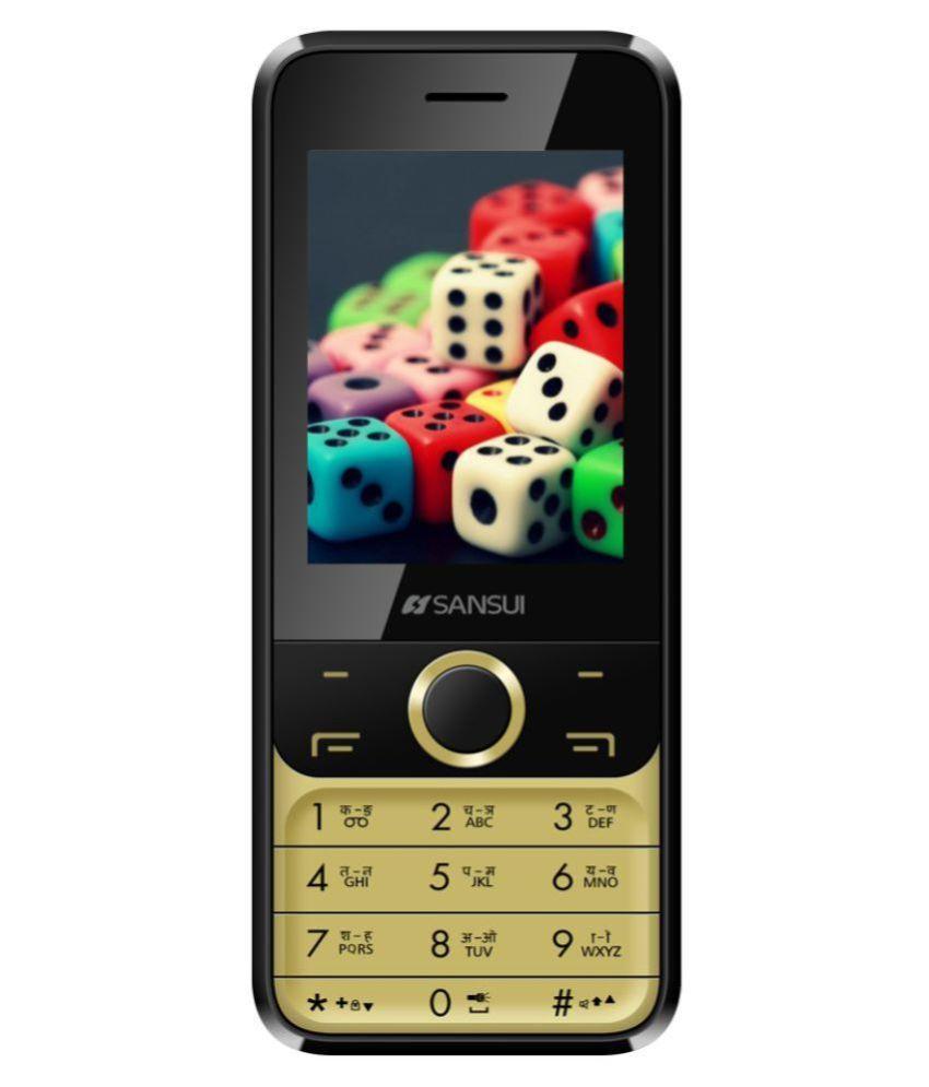 Sansui X71 4GB and Below Black Gold