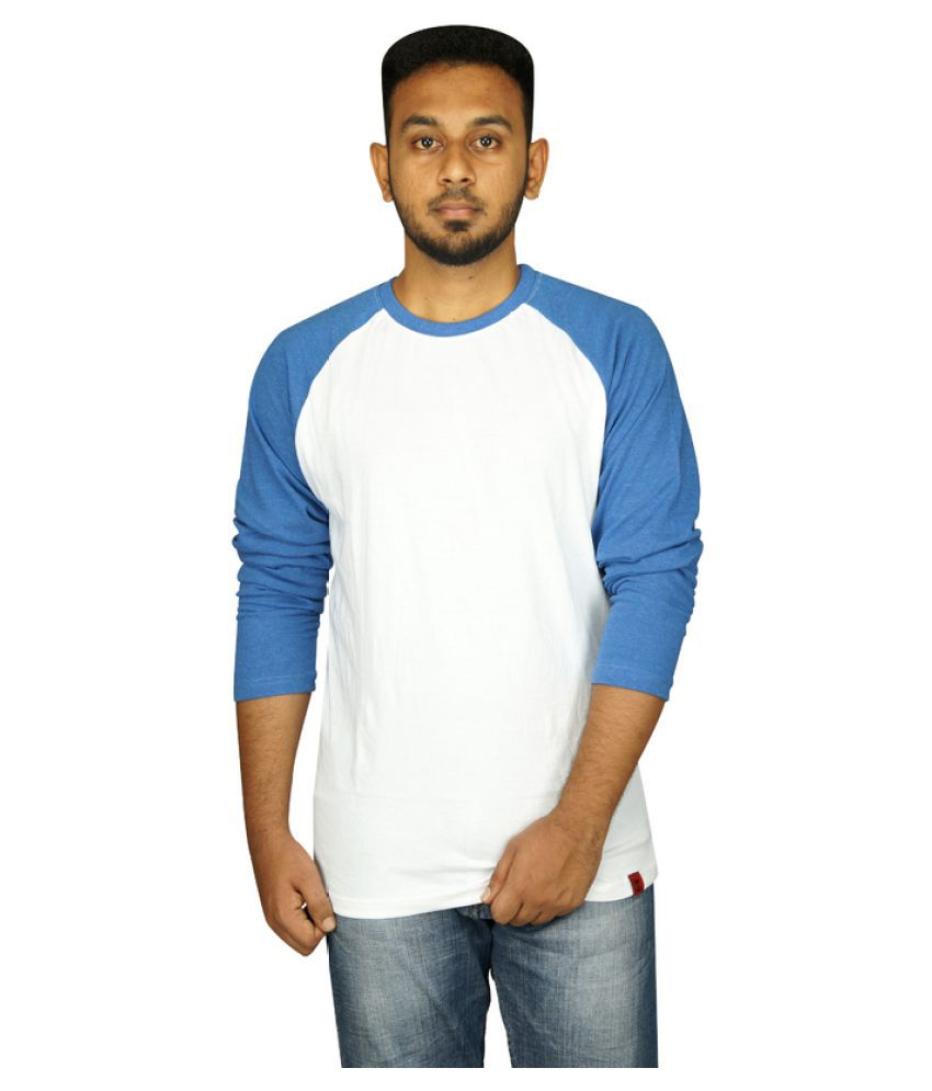 Empire Fashion White Round T-Shirt