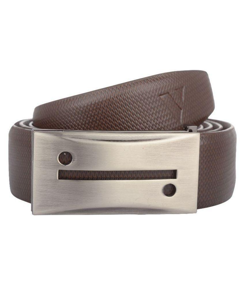 Vestire Brown Leather Formal Belts