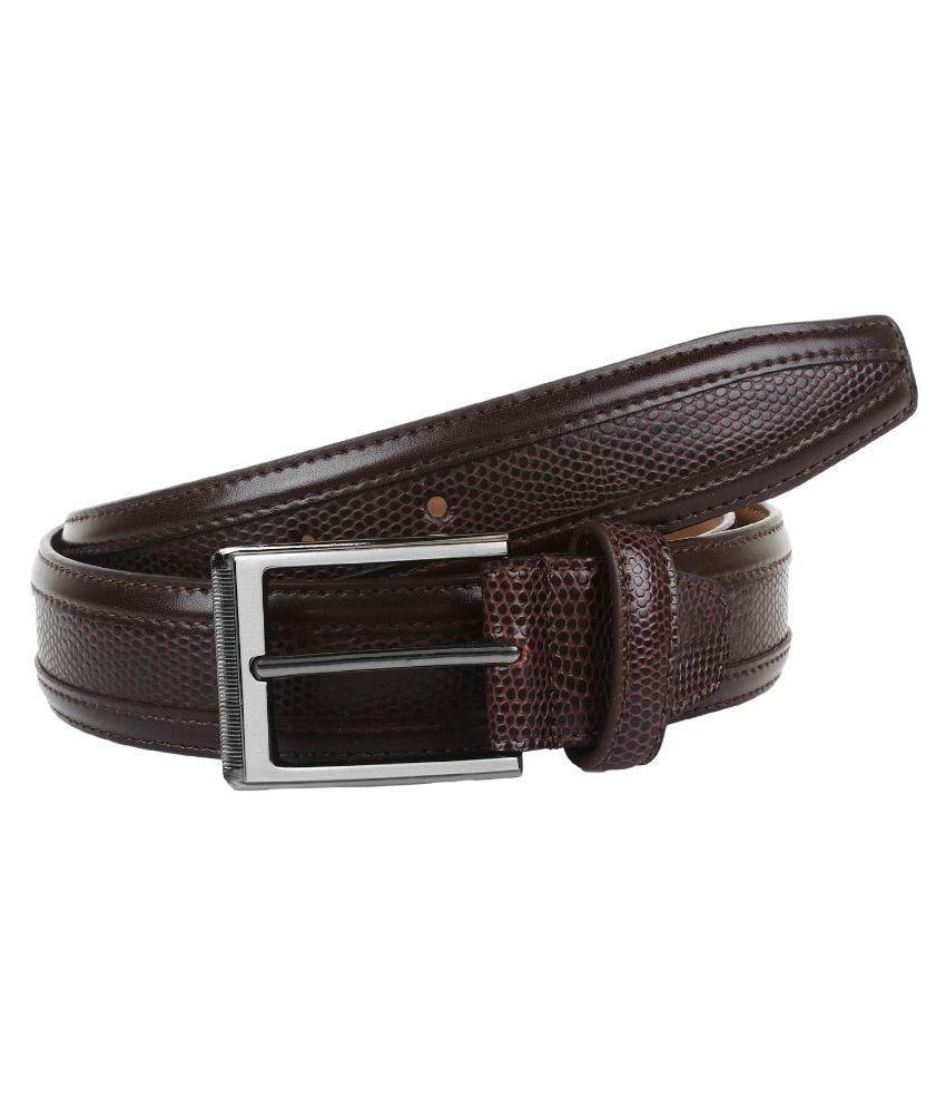 Amicraft Brown Leather Casual Belts