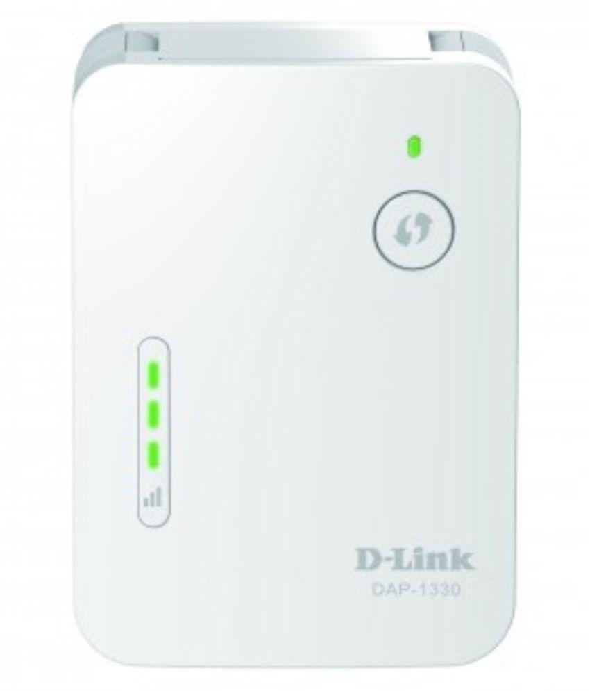 D-link DAP-1330 300mbps Wi-fi Range Extender With RJ45 Jack