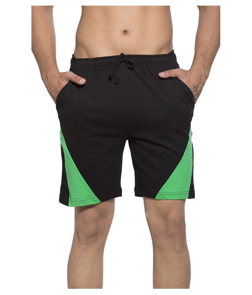 Clifton Black Shorts Single