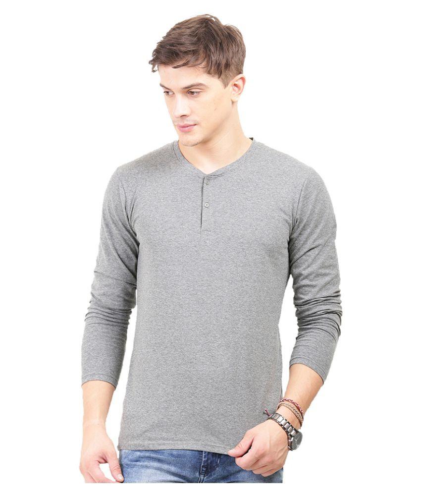 Thisrupt Grey Henley T-Shirt