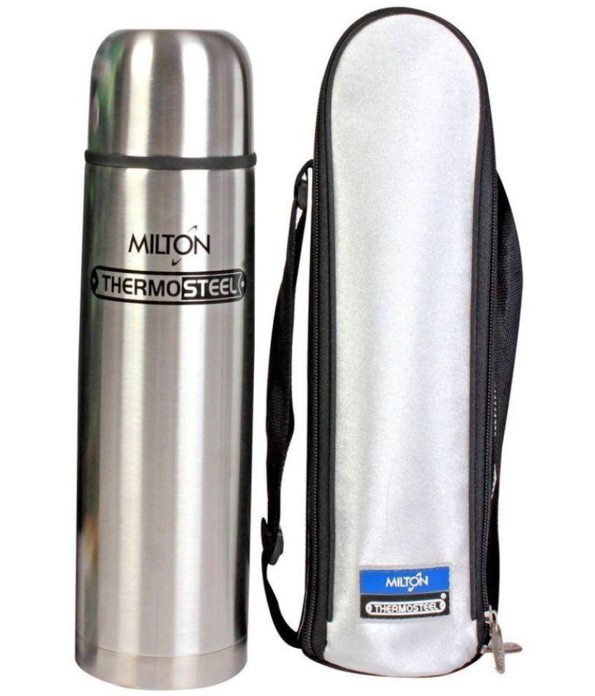 Milton Flip Lid Steel Flask - 1000