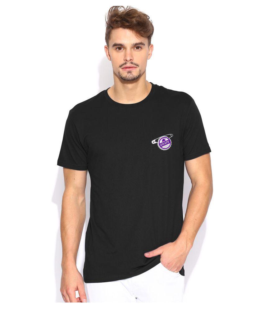 Artywear Black Round T-Shirt