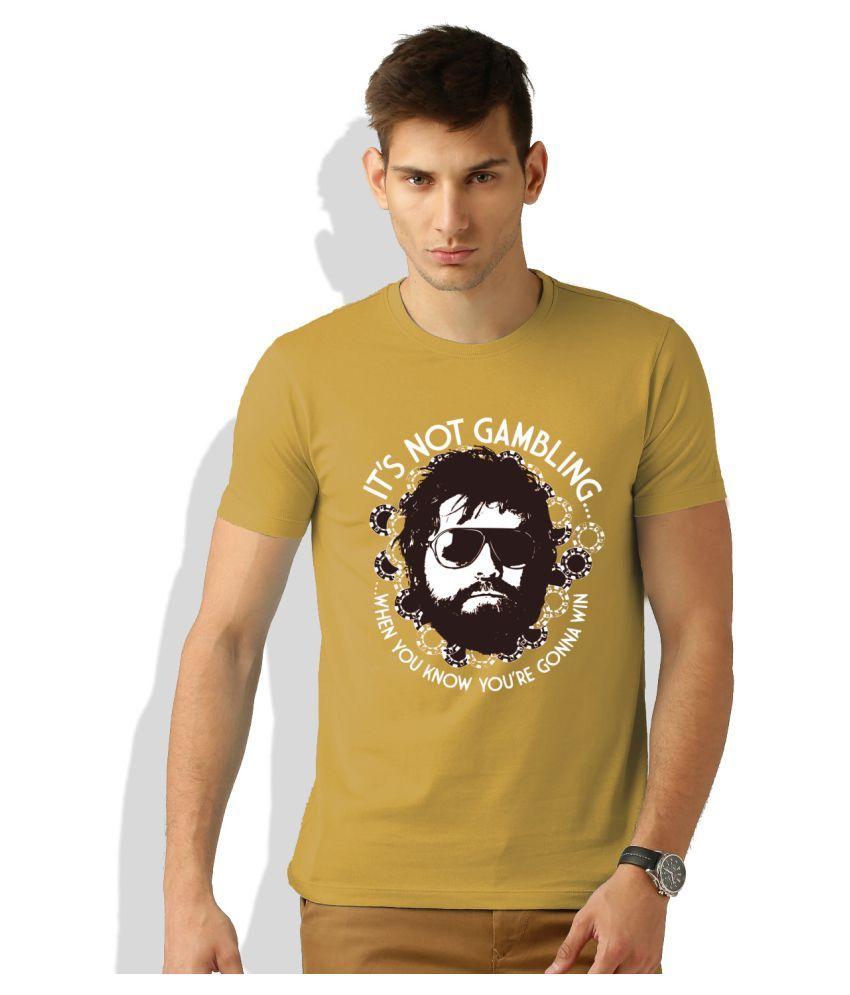 Artywear Khaki Round T-Shirt
