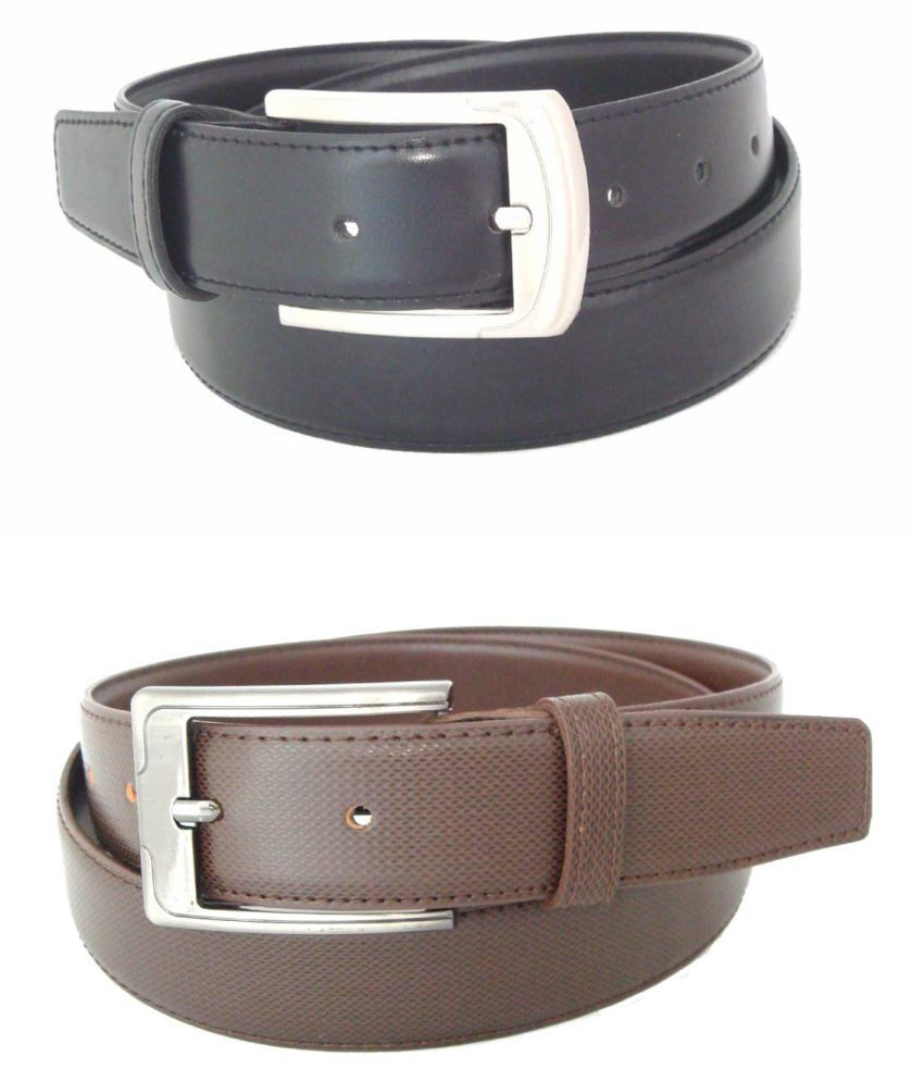 SFA Multi PU Formal Belts - Pack of 2