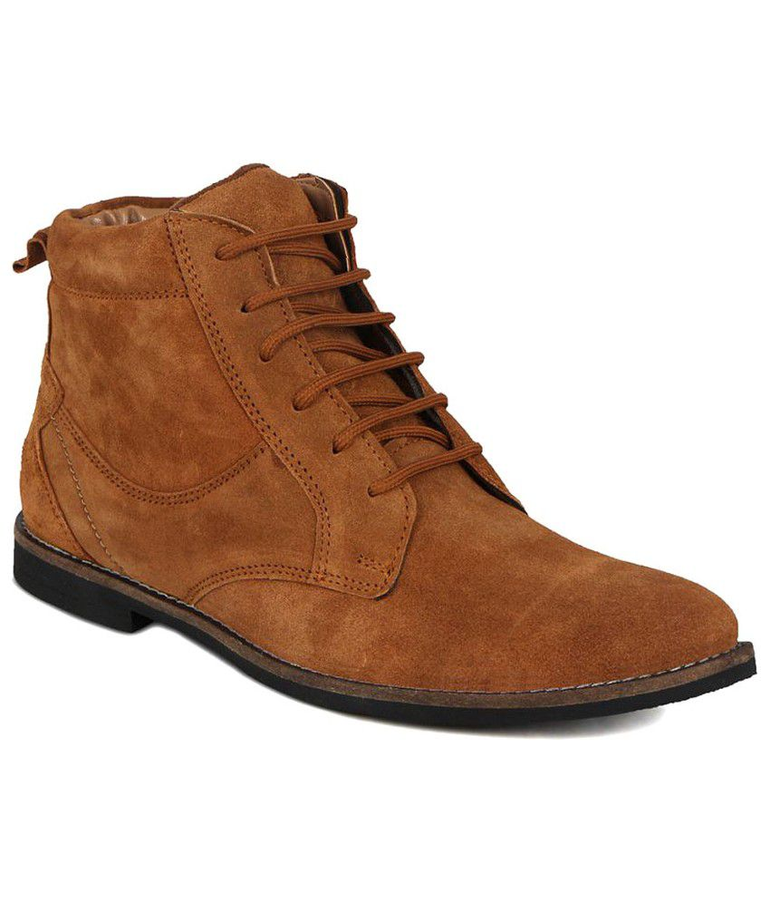 Kielz Brown Casual Boot