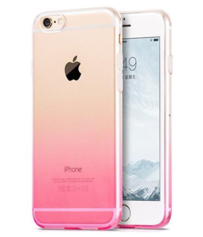 new product a95e8 b5e0c Apple iPhone 6S Soft Silicon Cases FONOVO - Pink
