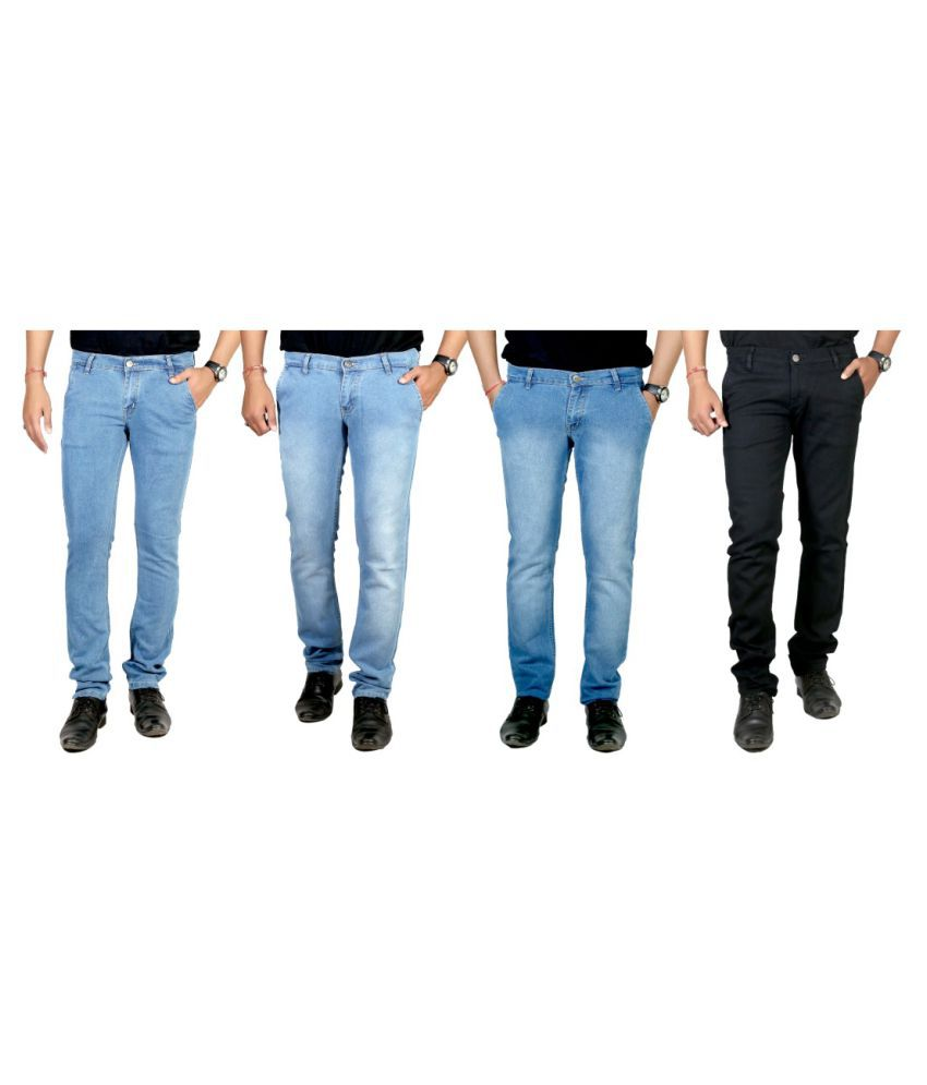 By The Way Multi Slim Washed - Pack of 4
